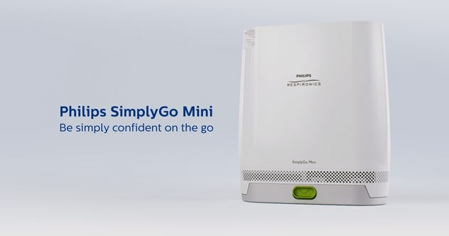 Philips SimplyGo Mini video