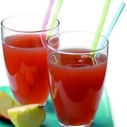 Watermelon, cucumber & apple juice