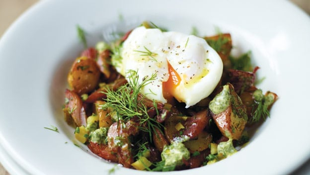 Pytt i Panna (Swedish meat & potato hash)