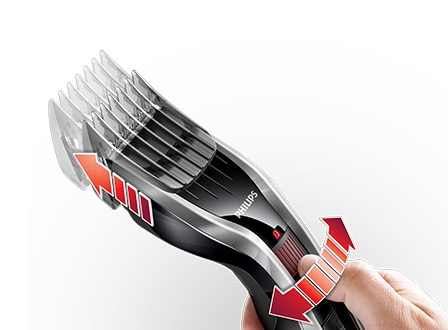 Hair clipper 5000: 24 lock-in length settings