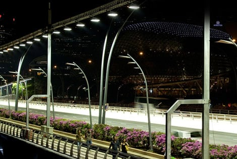 The First Formula One™ Night Race
