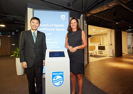 Royal Philips today launched the Health Continuum Space, developed to facilitate collaboration with governments, healthcare professionals and related stakeholders to design and co-create future healthcare facilities and hospitals.