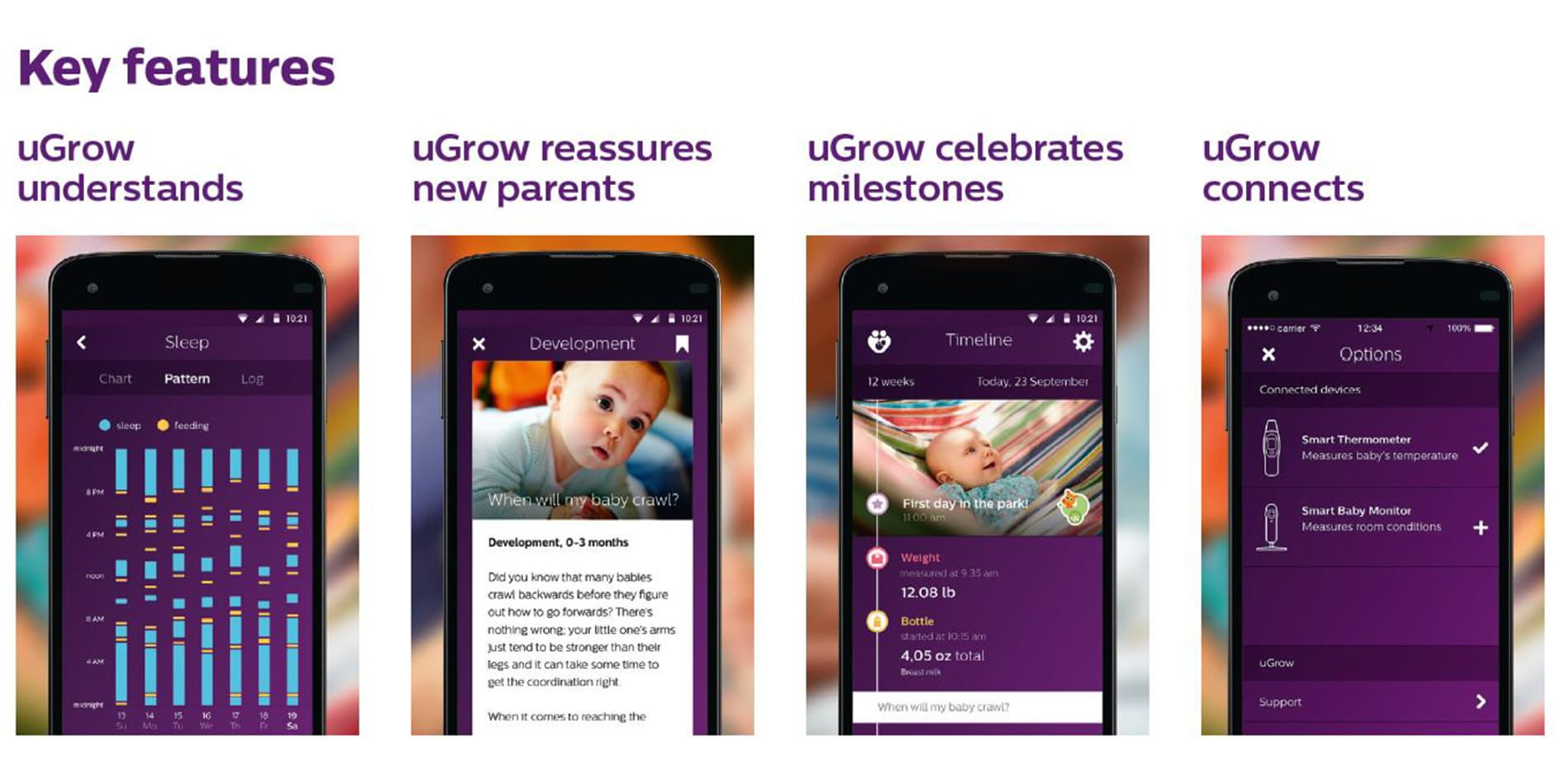 ugow app features